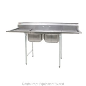 Eagle 412-16-2-X Sink, (2) Two Compartment
