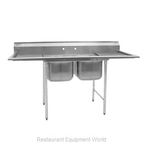 Eagle 412-16-2 Sink, (2) Two Compartment
