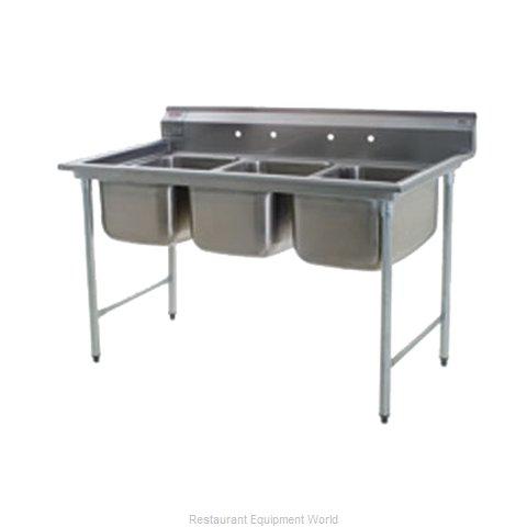 Eagle 414-16-3 Sink, (3) Three Compartment