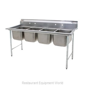Eagle 414-16-4 Sink, (4) Four Compartment