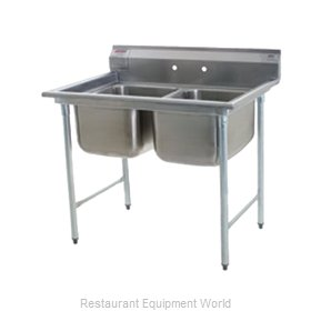 Eagle 414-18-2 Sink, (2) Two Compartment