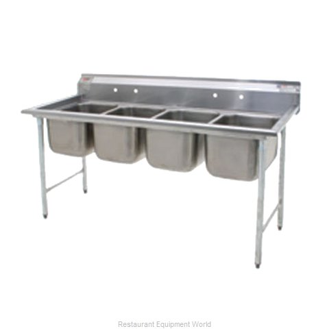 Eagle 414-18-4 Sink, (4) Four Compartment