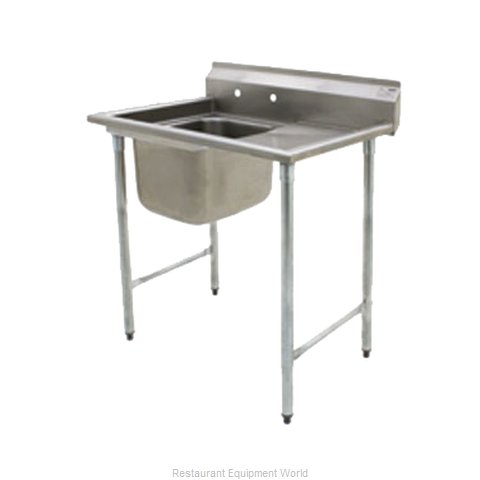 Eagle 414-24-1-24R Sink, (1) One Compartment