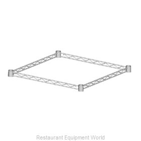 Eagle 4TF1836-BL Shelving, 4-Sided Frame
