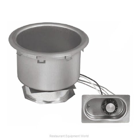 Eagle 7QDI-208D Hot Food Well Unit Electric Drop-In Top Mount