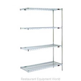 Eagle A4-63-2448VG Shelving Unit, Wire