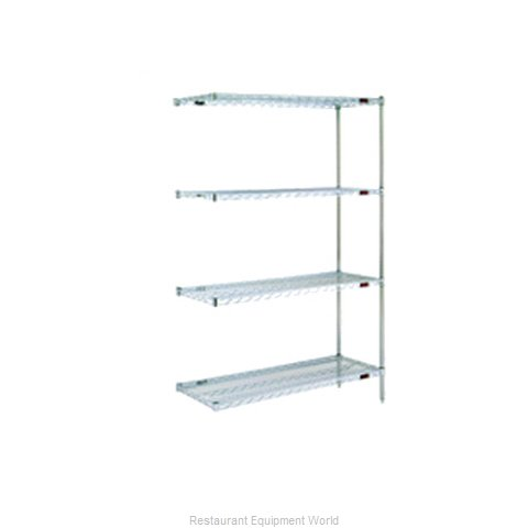 Eagle A4-74-2448E Shelving Unit, Wire (Magnified)