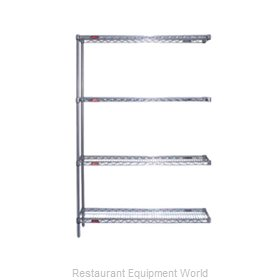Eagle A4-74-2448V Shelving Unit, Wire