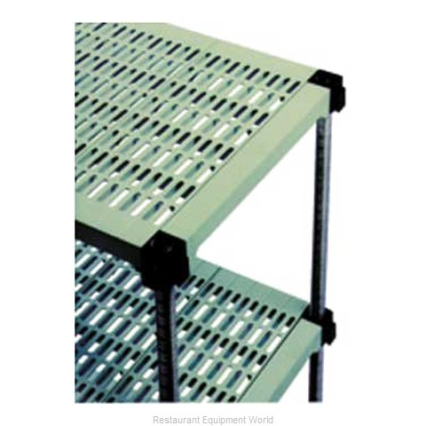Eagle A4-74S-S2348PM Shelving Unit, Plastic with Metal Post