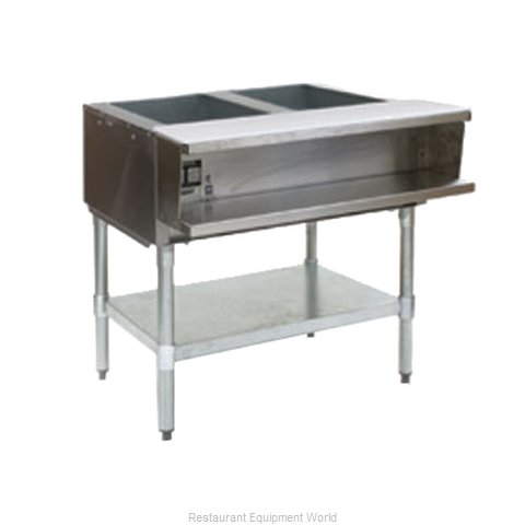 Eagle AWT2-NG-2X Serving Counter, Hot Food, Gas (Magnified)