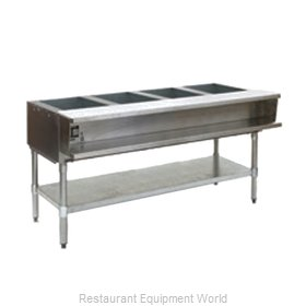Eagle AWT4-NG-1 Serving Counter Hot Food Steam Table Gas