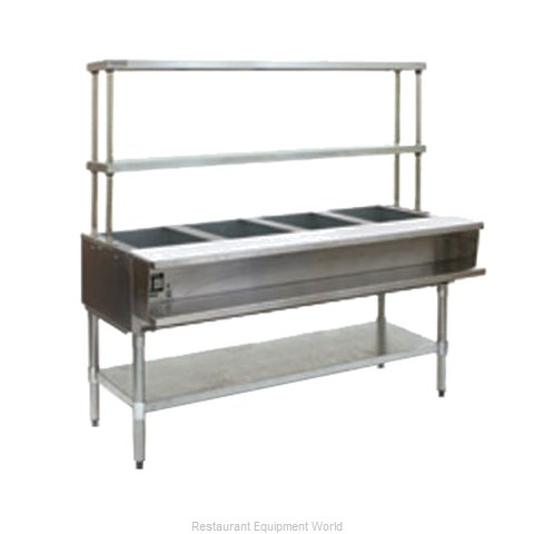 Eagle AWT4-NG-FM Serving Counter Hot Food Steam Table Gas