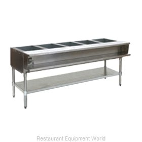 Eagle AWT5-LP-2X Serving Counter Hot Food Steam Table Gas