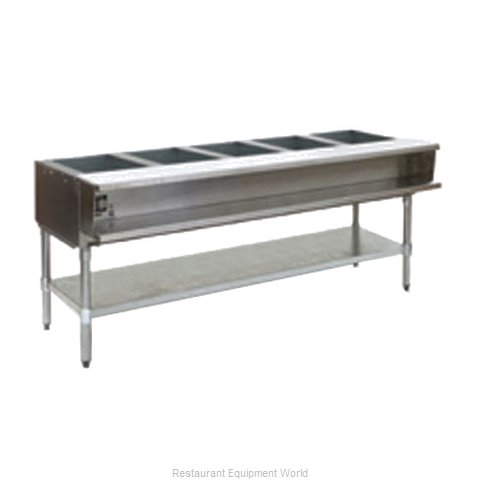 Eagle AWT5-NG-2X Serving Counter Hot Food Steam Table Gas