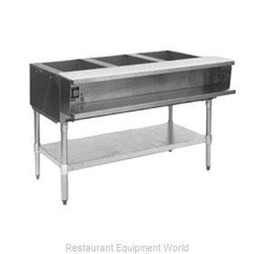 Eagle AWTP3-LP Serving Counter Hot Food Steam Table Gas