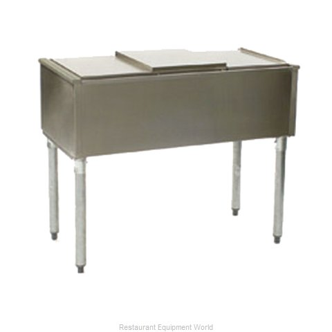 Eagle B18ICPT-7 Underbar Ice Bin/Cocktail Station, Pass-Thru