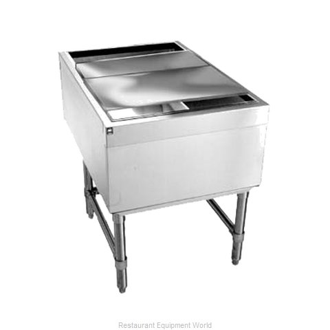 Eagle B24PTIC Underbar Ice Bin Cocktail Unit Pass-Thru