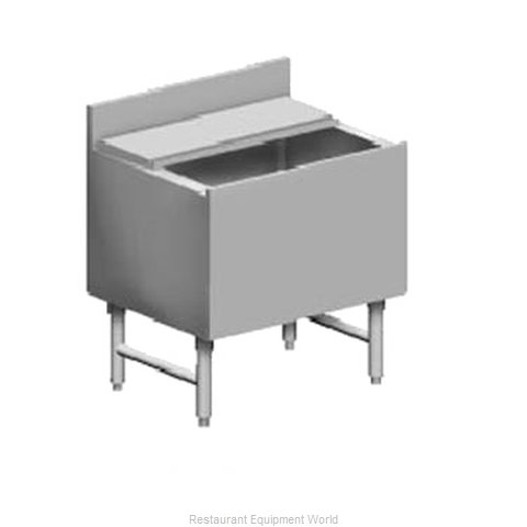 Eagle B28IC-22-7 Underbar Ice Bin/Cocktail Unit