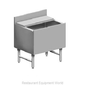 Eagle B28IC-22-7 Underbar Ice Bin Cocktail Station