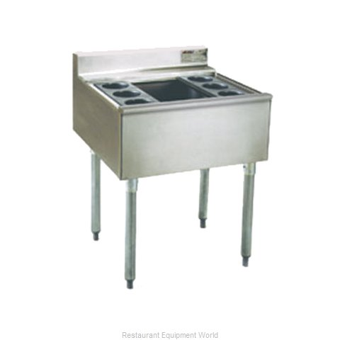 Eagle B2CT-18-X Underbar Ice Bin Cocktail Station (Magnified)