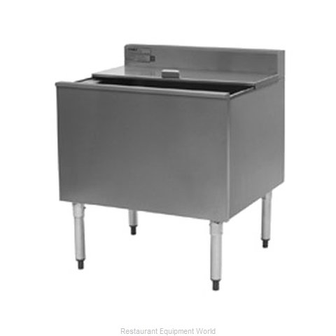 Eagle B30IC-16D-22 Underbar Ice Bin Cocktail Station (Magnified)