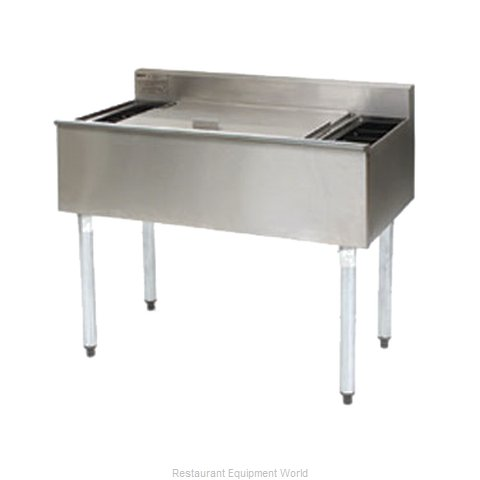 Eagle B3CT-18 Underbar Ice Bin Cocktail Station