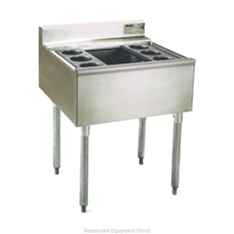 Eagle B3CT-22-7 Underbar Ice Bin Cocktail Station