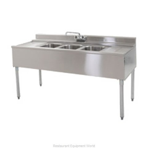 Eagle B3L-2-22 Underbar Sink Units (Magnified)