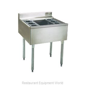 Eagle B40CT-22-7 Underbar Ice Bin Cocktail Station