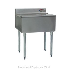 Eagle B48IC-12D-22-7 Underbar Ice Bin/Cocktail Unit