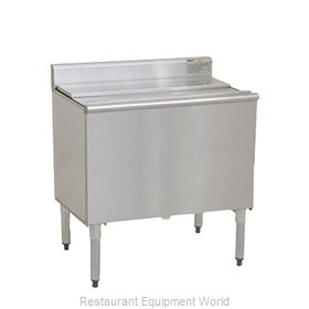 Eagle B48IC-18-7 Underbar Ice Bin Cocktail Station