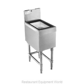 Eagle B48IC-24 Underbar Ice Bin/Cocktail Unit