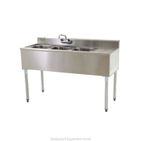 Eagle B4R-2-18 Underbar Sink Units (Magnified)