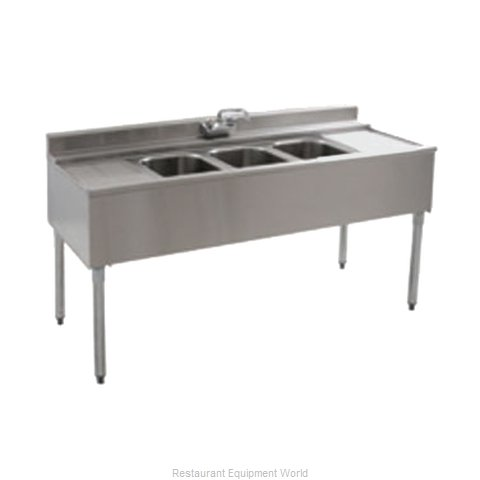 Eagle B4R-2-22 Underbar Sink Units (Magnified)