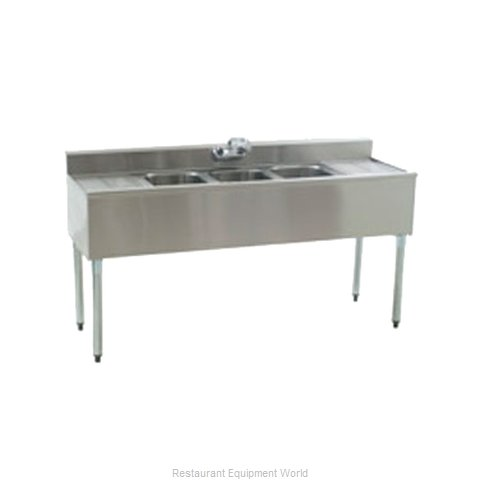Eagle B6C-4-18-X Underbar Sink Units (Magnified)
