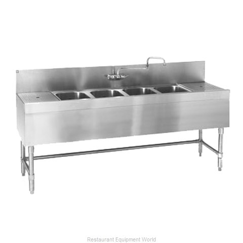 Eagle B6L-4-19 Underbar Sink Units (Magnified)