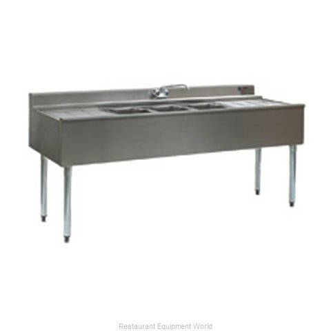 Eagle B7C-4-22 Underbar Sink Units (Magnified)