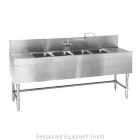 Eagle B7RL-4-24 Underbar Sink Units