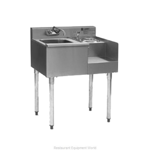 Eagle BM50-18R Underbar Ice Bin Cocktail Blender Station