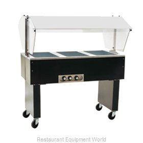 Eagle BPDHT2-208-3 Serving Counter Hot Food Steam Table Electric