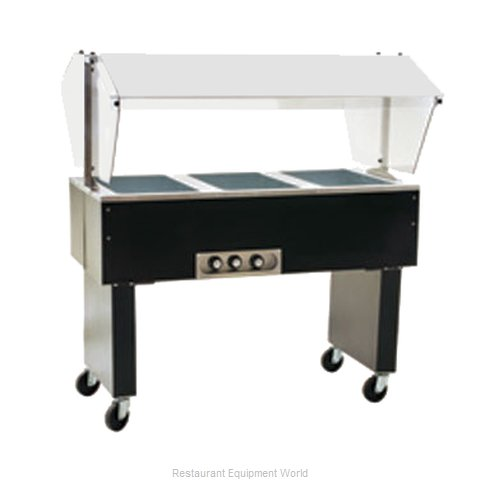 Eagle BPDHT3-208-3 Serving Counter Hot Food Steam Table Electric