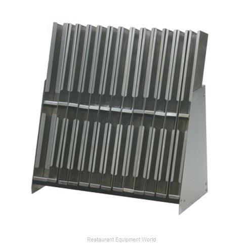 Eagle BRM-24 Underbar Bottle Display Unit (Magnified)