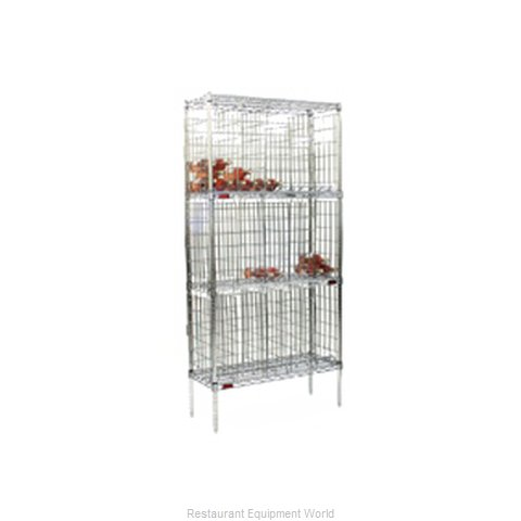 Eagle BW1436BL-SC Shelving Unit, Wine (Magnified)