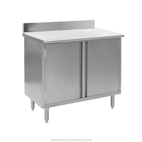 Eagle CBH2448SE-BS Work Table Cabinet Base Hinged Doors