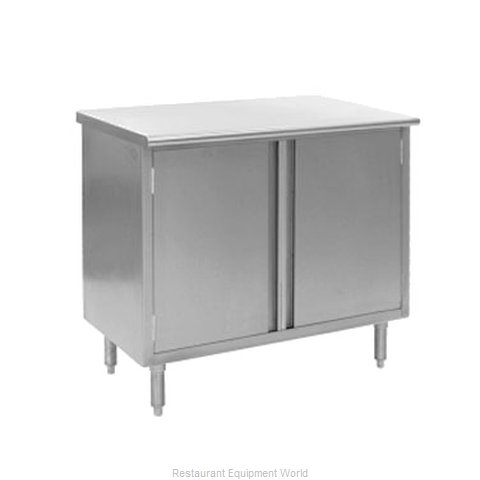 Eagle CBH2460SE Work Table, Cabinet Base Hinged Doors