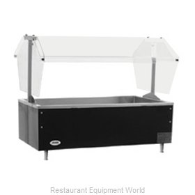 Eagle CCP-2 Cold Pan Food Unit Table Top Buffet
