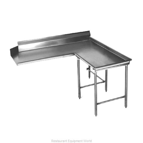 Eagle CDTCIR-72-14/3 Dishtable Clean L Shaped
