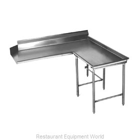 Eagle CDTCIR-96-14/3 Dishtable Clean L Shaped