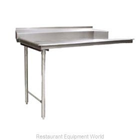 Eagle CDTL-72-14/3 Dishtable, Clean Straight