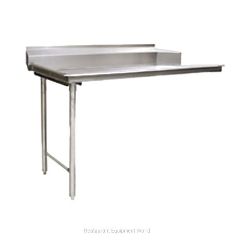 Eagle CDTL-72-16/3 Dishtable, Clean Straight (Magnified)